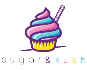 Sugar & kush logo