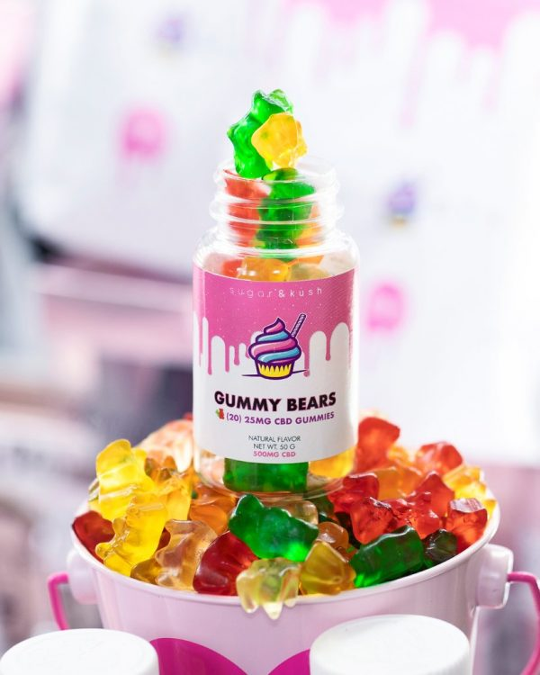 Sugar & Kush 750mg Gummy Bears