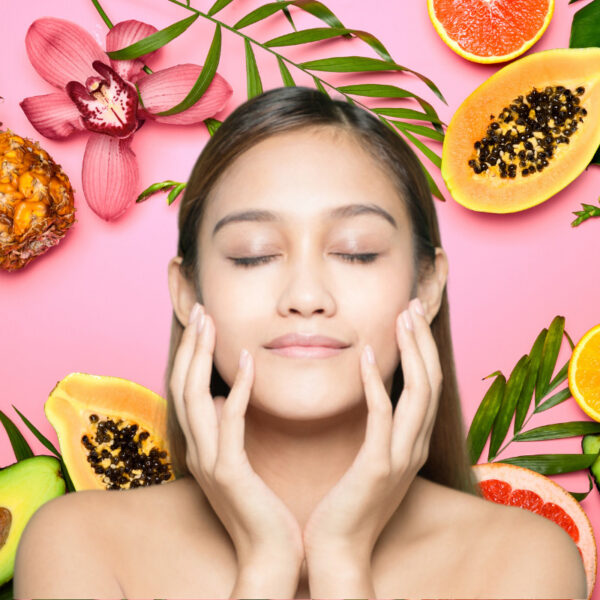Illumination Fruit Peel Mask